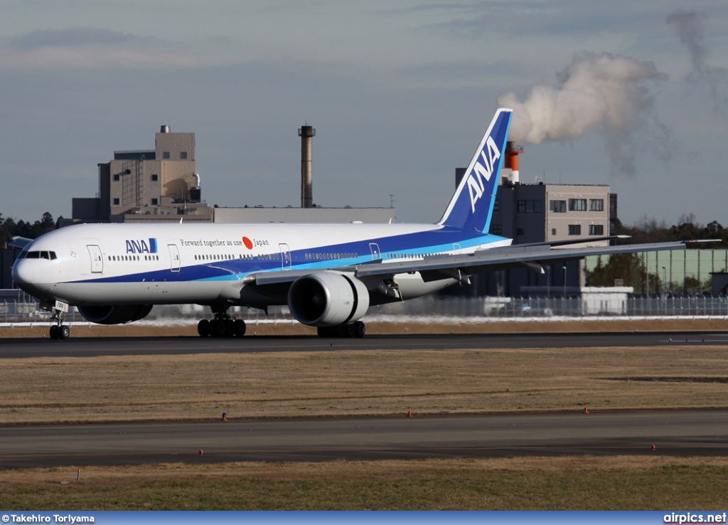 JA786A, Boeing 777-300ER, All Nippon Airways