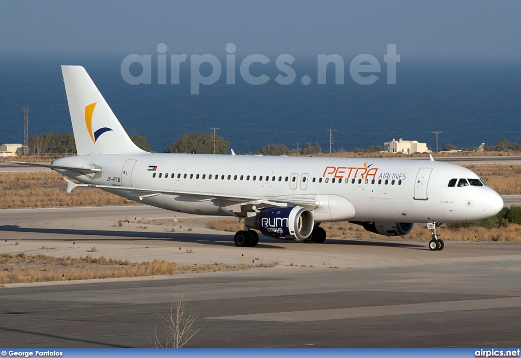 JY-PTB, Airbus A320-200, Petra Airlines