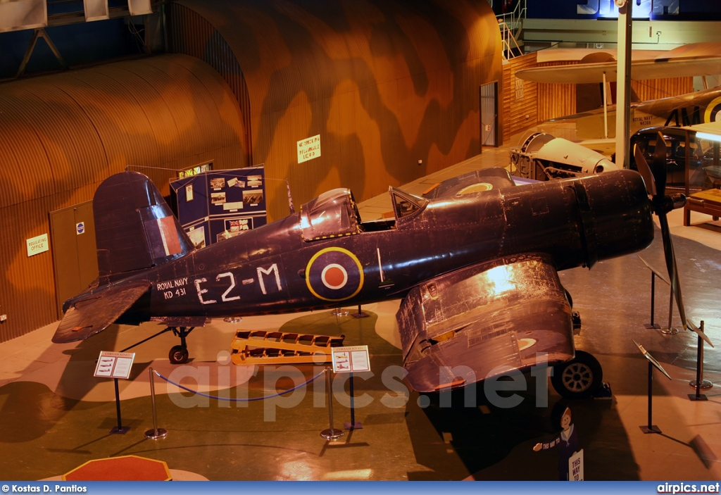 KD 431, Vought (Goodyear) FG-1A Corsair, Royal Navy - Fleet Air Arm