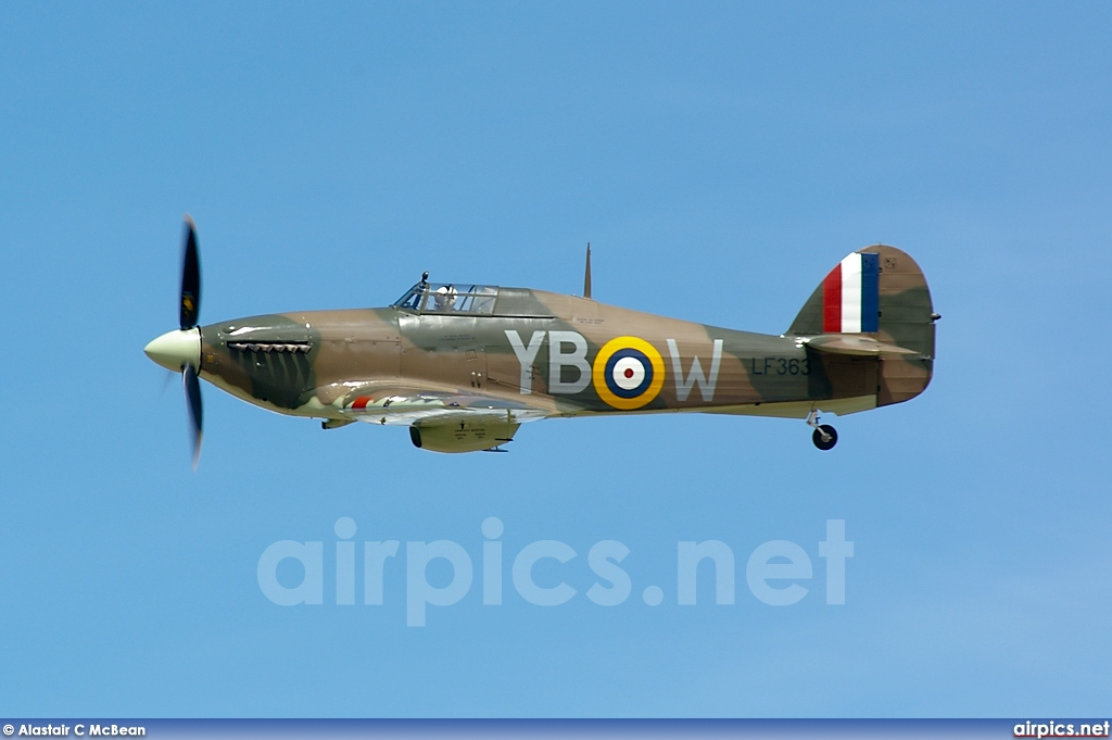 LF363, Hawker Hurricane Mk.IIC, Royal Air Force