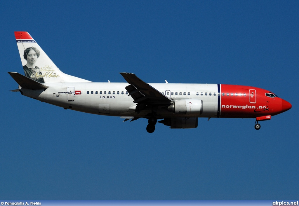 LN-KKN, Boeing 737-300, Norwegian Air Shuttle
