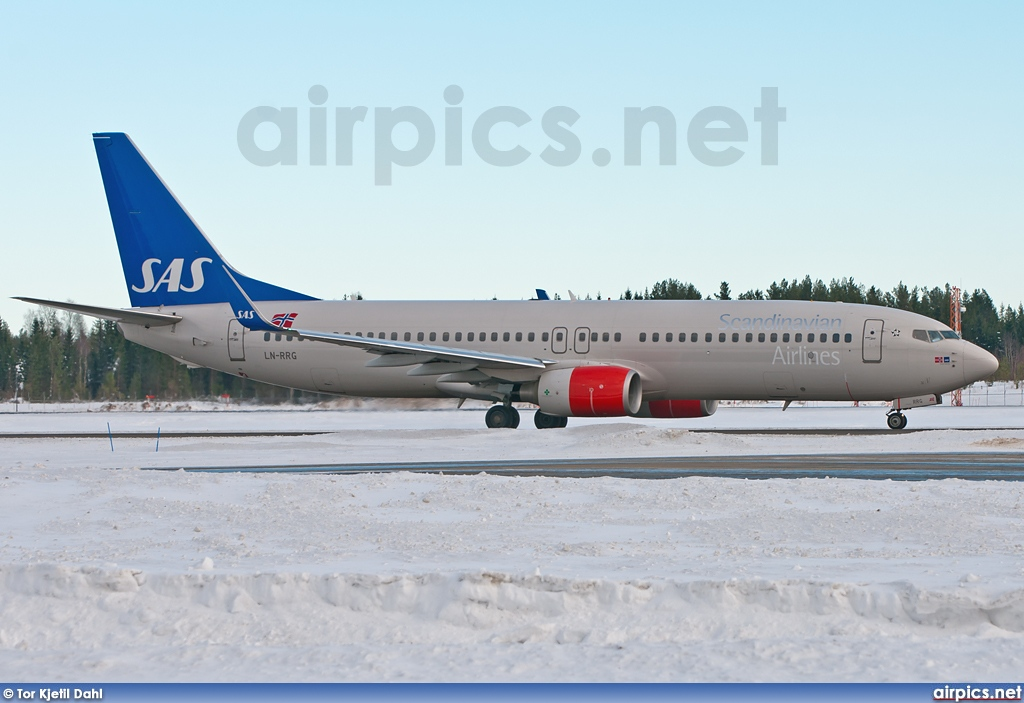 LN-RRG, Boeing 737-800, Scandinavian Airlines System (SAS)