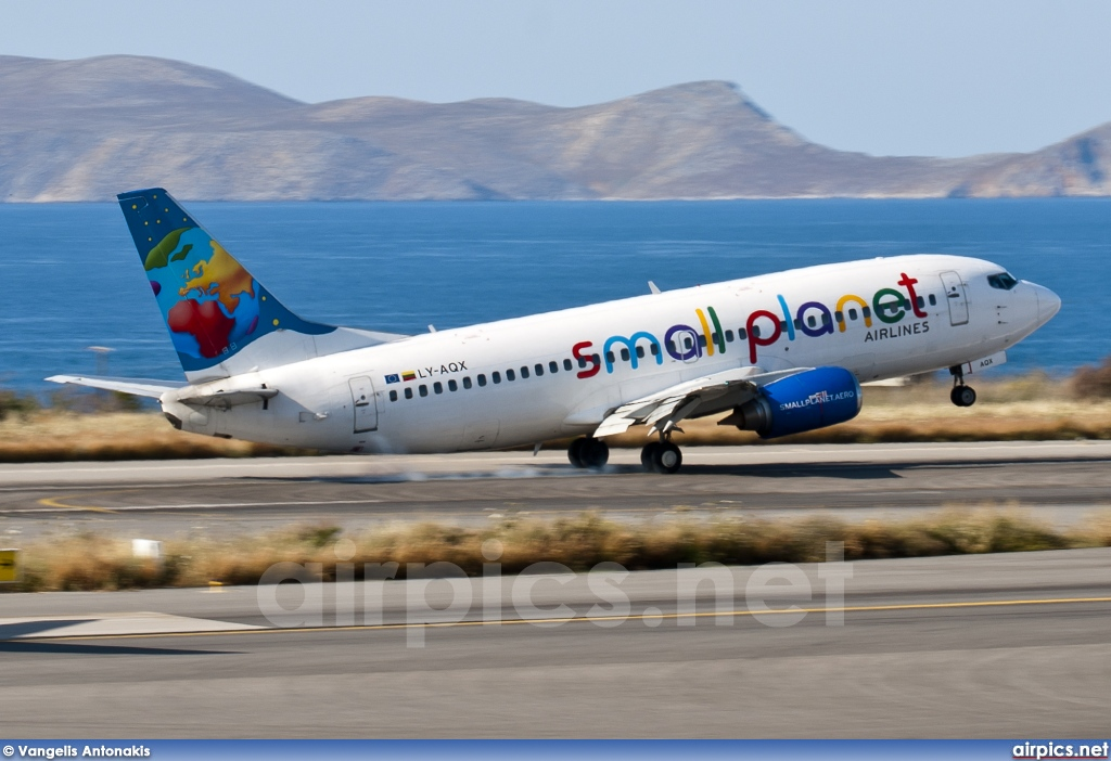 LY-AQX, Boeing 737-300, Small Planet Airlines