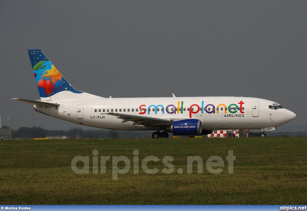 LY-FLH, Boeing 737-300, Small Planet Airlines