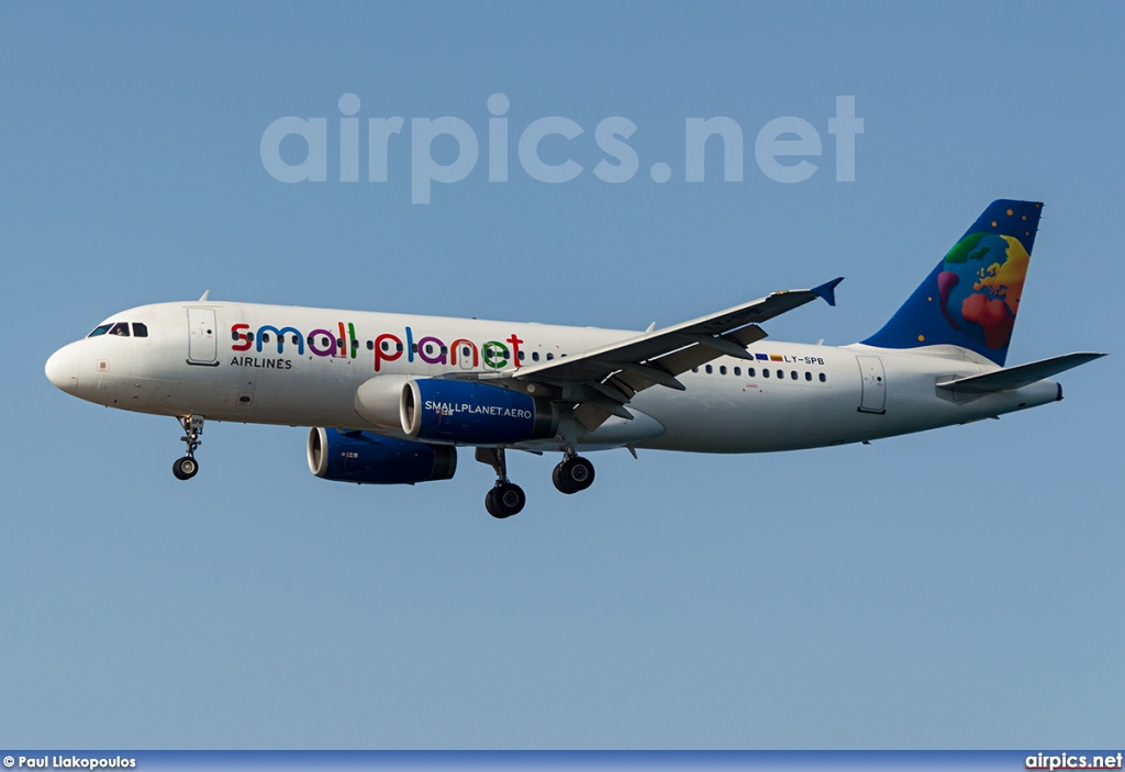 LY-SPB, Airbus A320-200, Small Planet Airlines