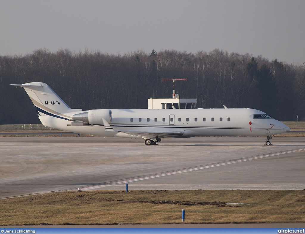 M-ANTA, Bombardier Challenger 850, Private