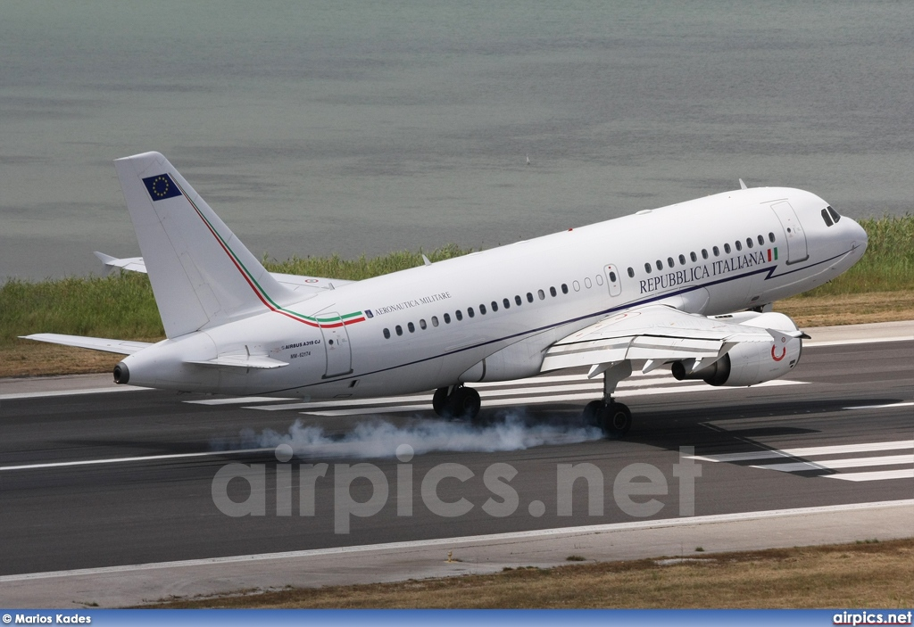 MM62174, Airbus A319-100CJ, Italian Air Force