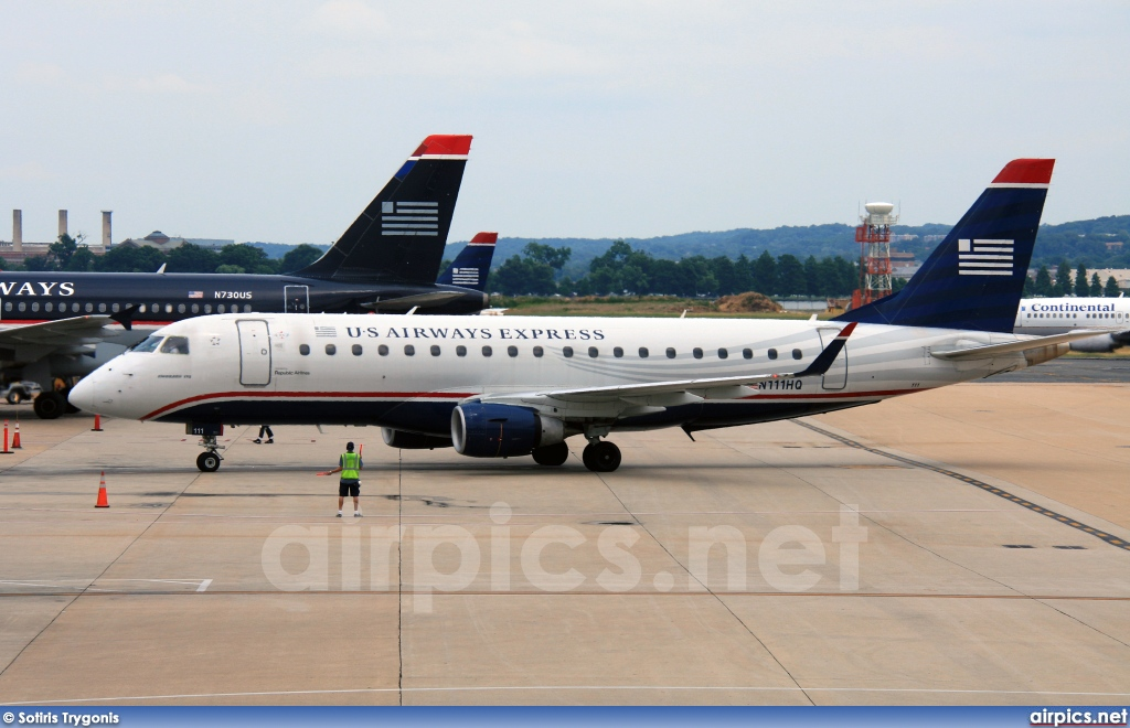 N11HQ, Embraer ERJ 170-200LR, US Airways Express