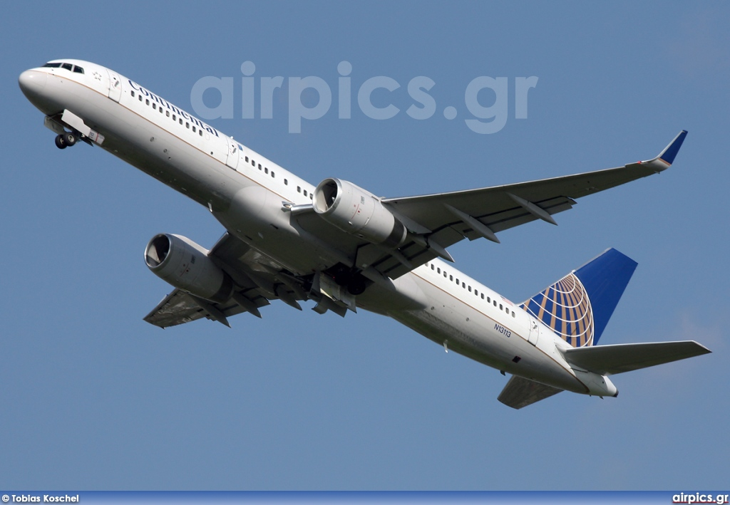 N13113, Boeing 757-200, Continental Airlines
