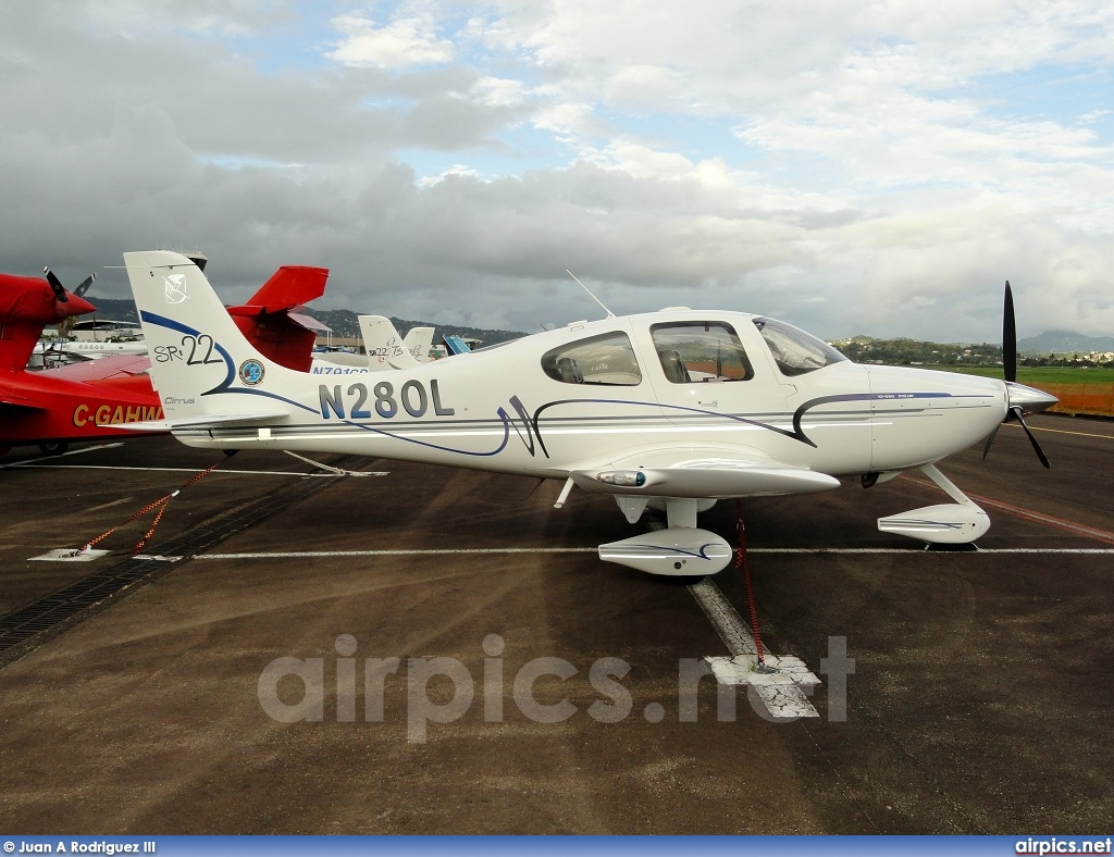 N280L, Cirrus SR22, Private