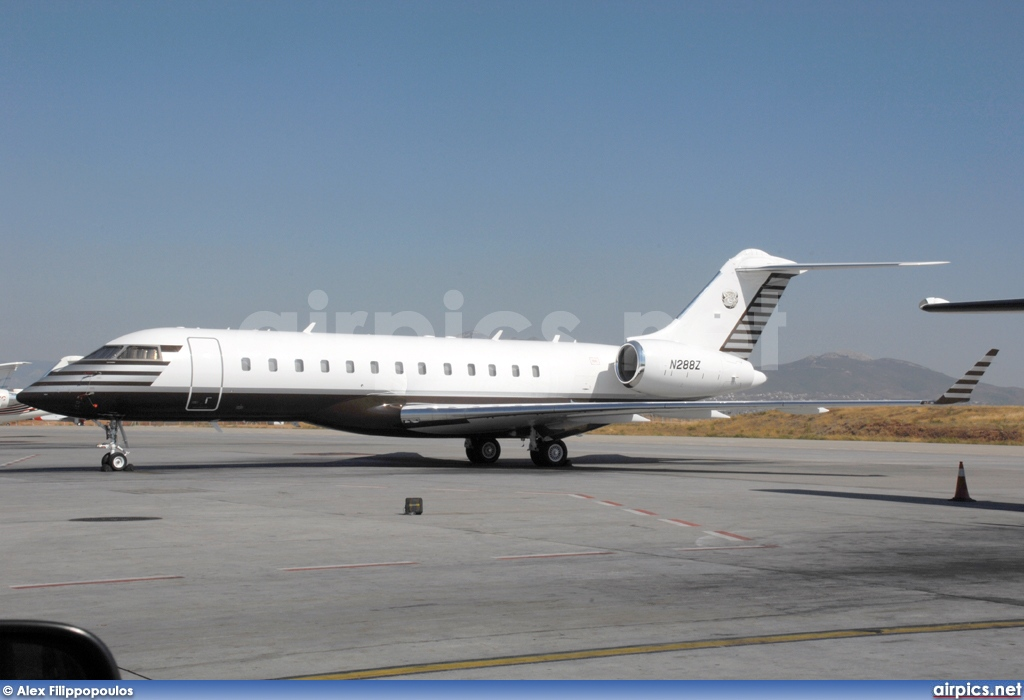 N288Z, Bombardier Global Express XRS, Private