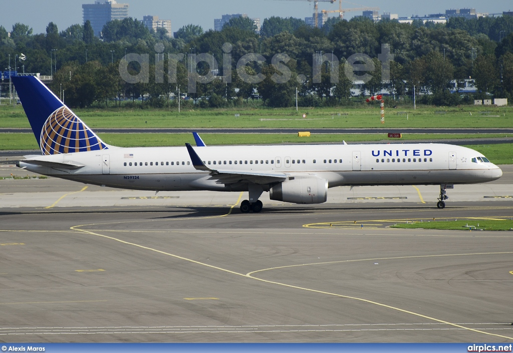 N29124, Boeing 757-200, United Airlines