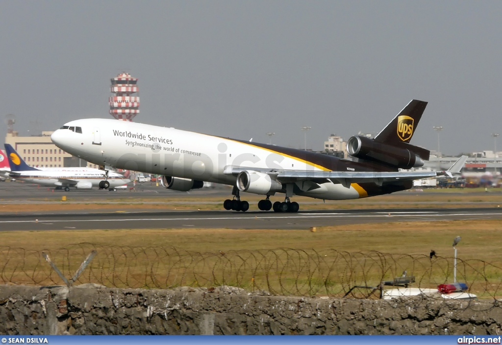 N296UP, McDonnell Douglas MD-11-F, UPS Airlines