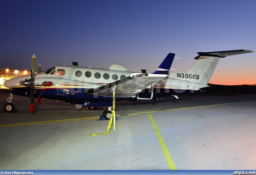 N350EB, Beechcraft 350 Super King Air, Private