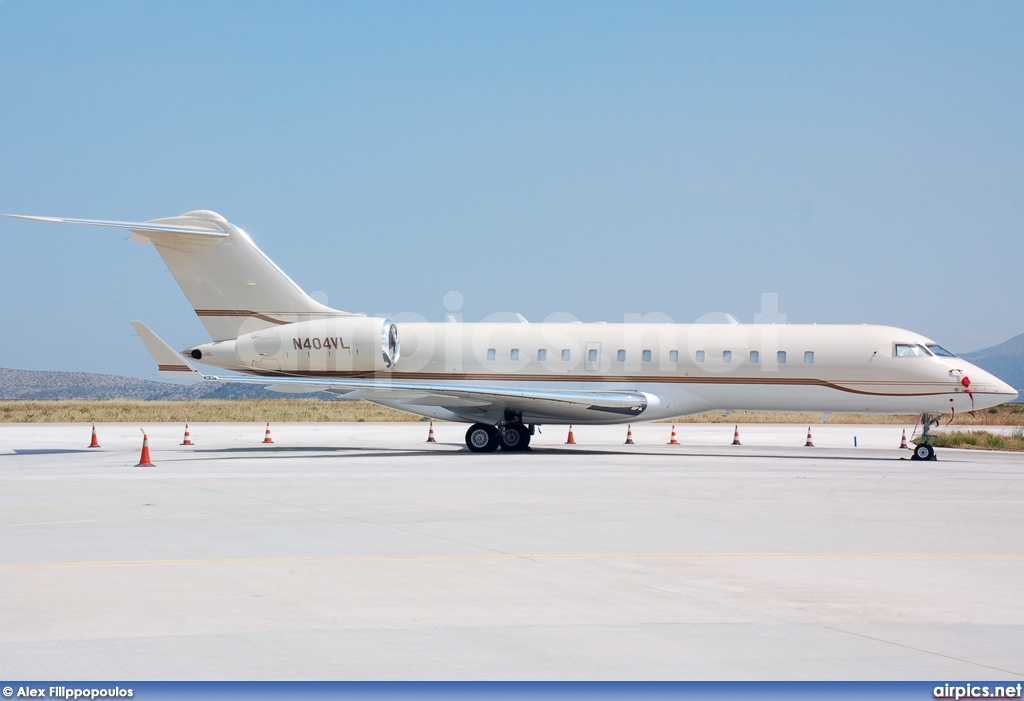 N404VL, Bombardier Global Express, Private