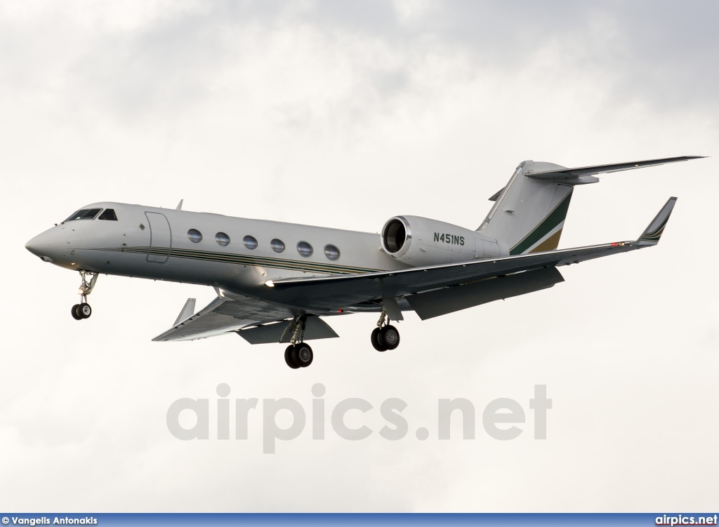 N451NS, Gulfstream G450, Private