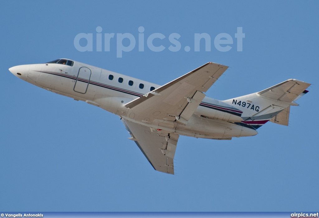N497AG, Hawker 800XP, Private