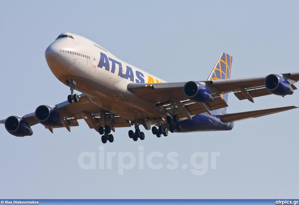 N524MC, Boeing 747-200B(SF), Atlas Air