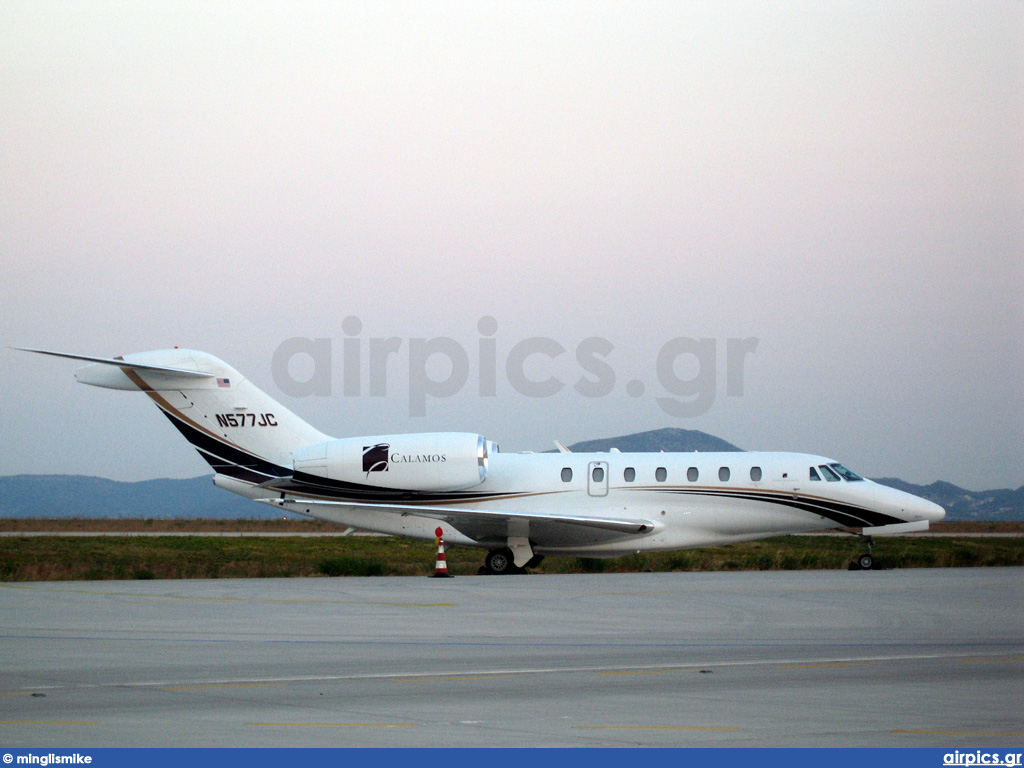 N577JC, Cessna 750-Citation X, Private