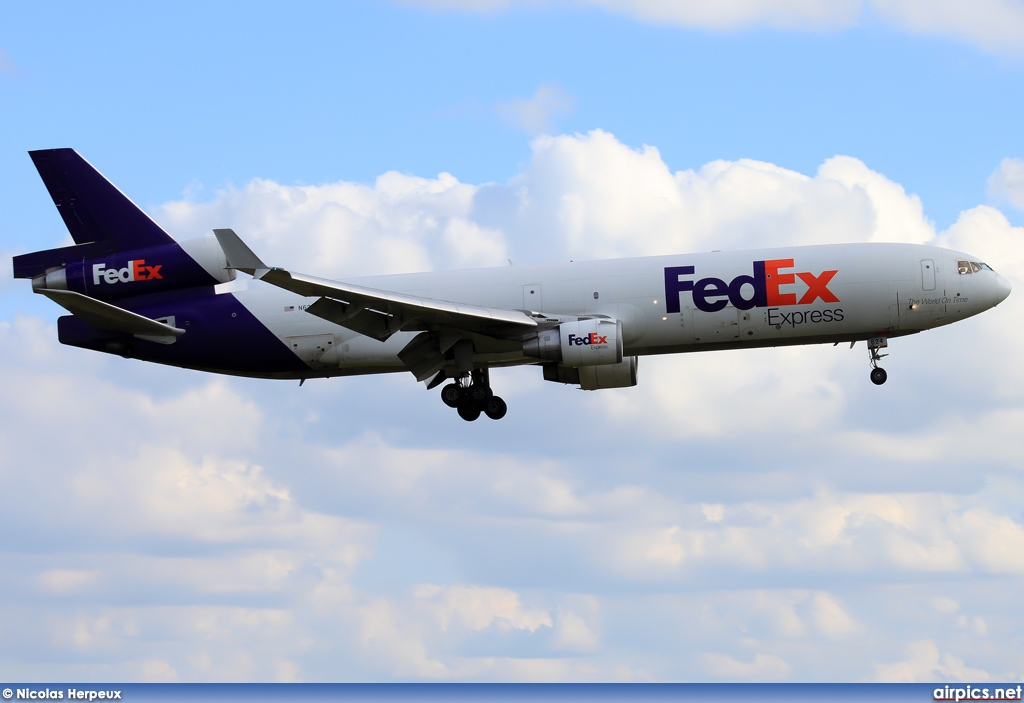 N624FE, McDonnell Douglas MD-11-F, Federal Express (FedEx)