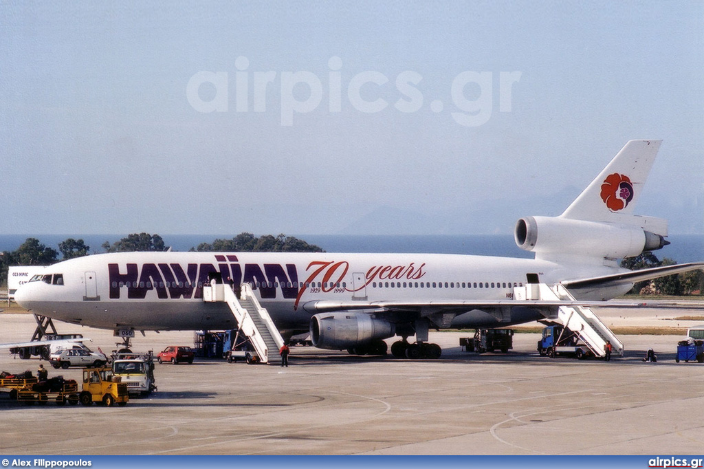 N68060, McDonnell Douglas DC-10-30, Hawaiian Airlines
