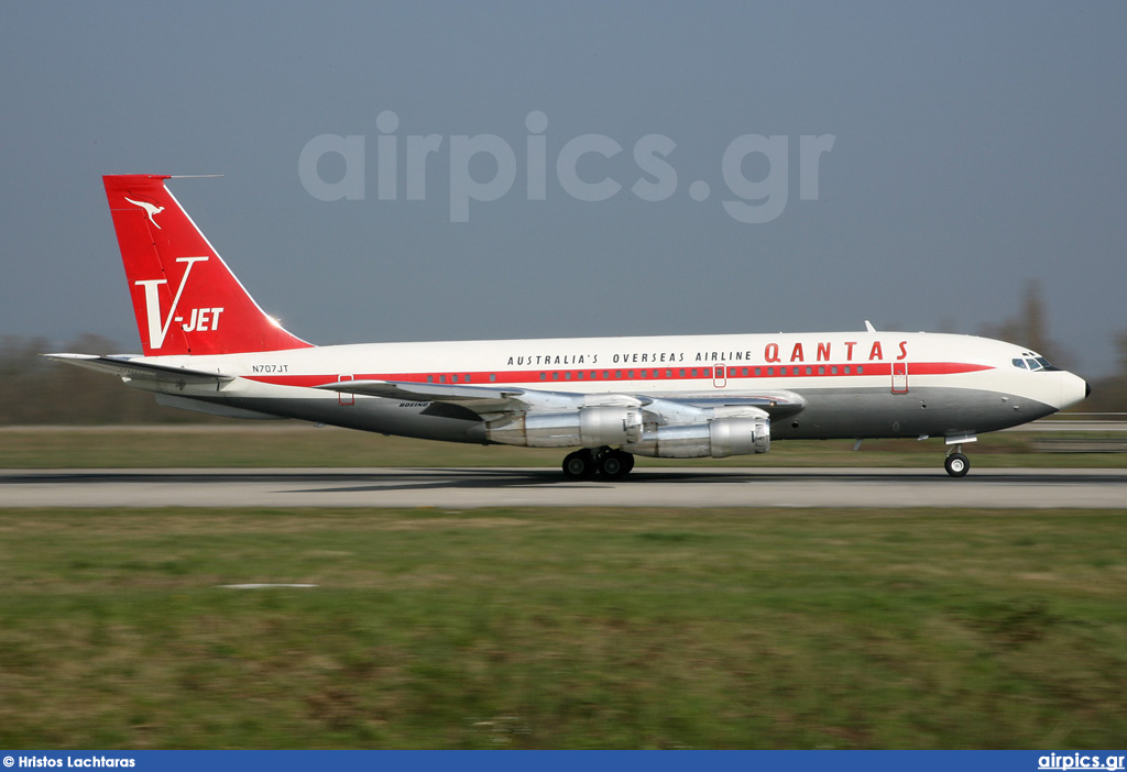 N707JT, Boeing 707-100B, Private