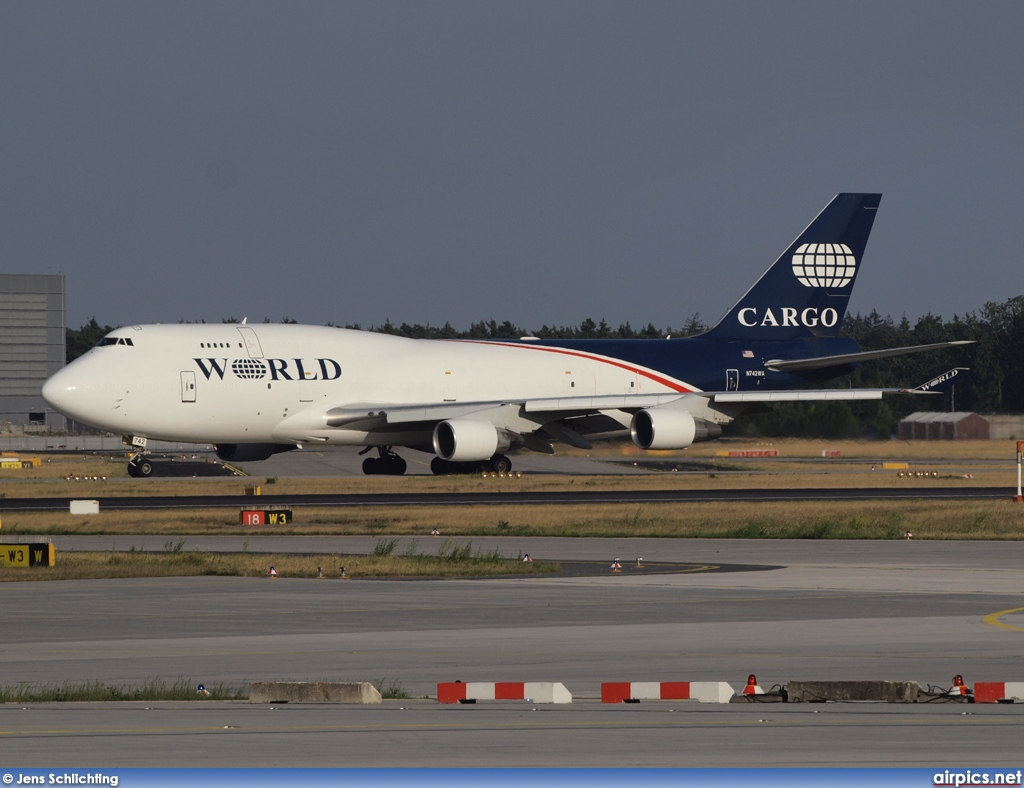 N742WA, Boeing 747-400SF, World Airways