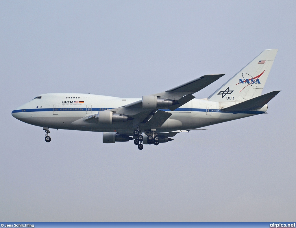 N747NA, Boeing 747-SP, National Aeronautics and Space Administration (NASA)