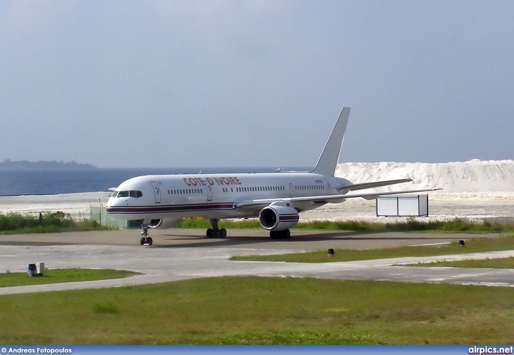 N757SS, Boeing 757-200, Ivory Coast Government