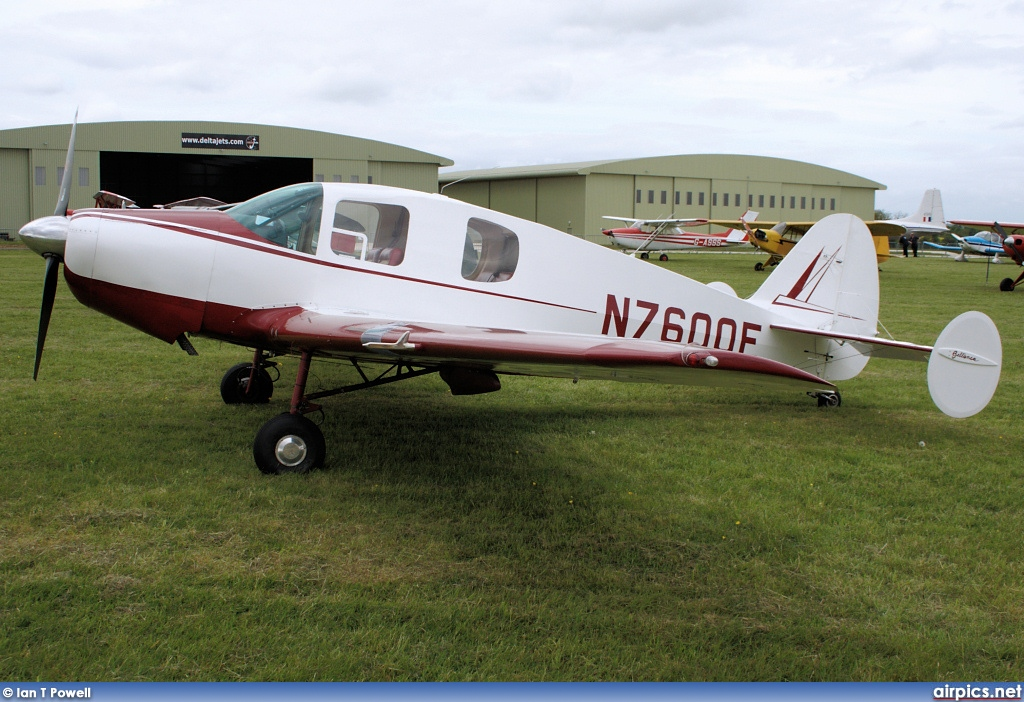 N7600E, Bellanca 14-19-3 Cruisemaster, Private