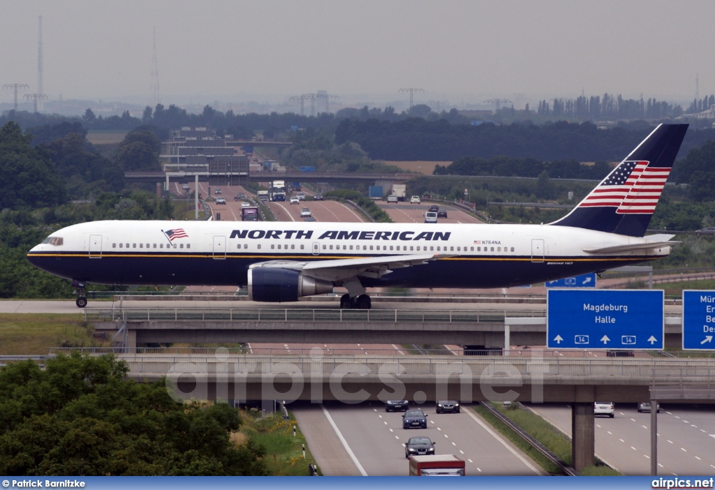 N764NA, Boeing 767-300ER, North American Airlines