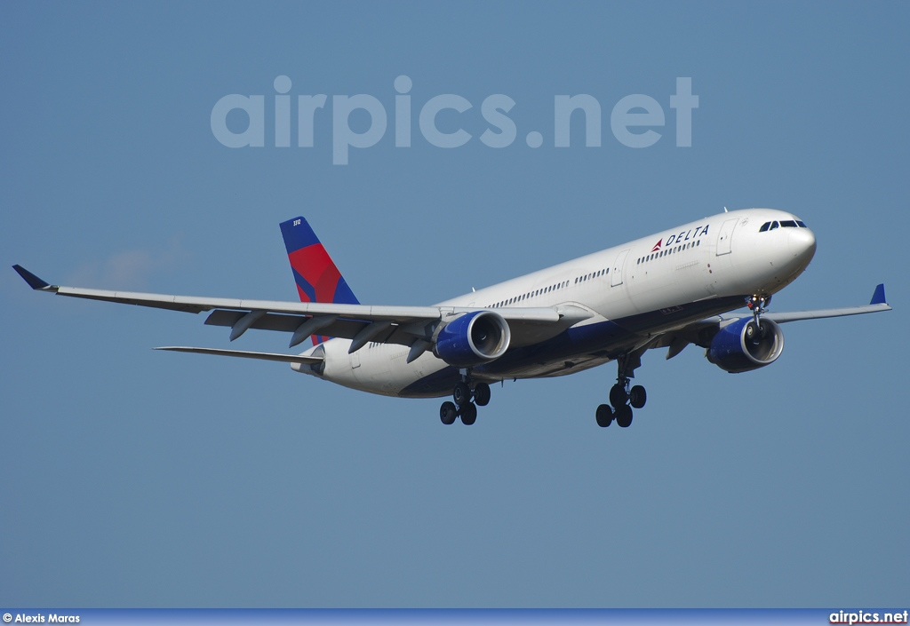 N812NW, Airbus A330-300, Delta Air Lines