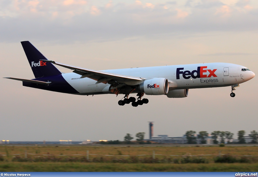 N853FD, Boeing 777F, Federal Express (FedEx)