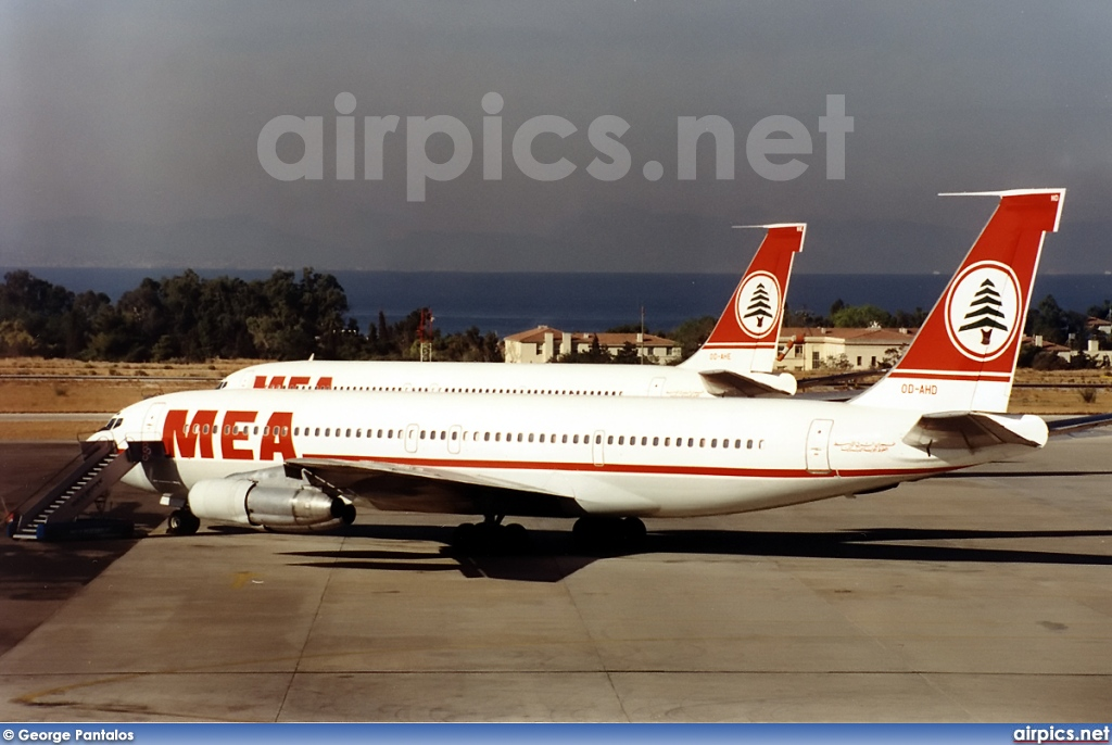 OD-AHD, Boeing 707-300C, Middle East Airlines (MEA)