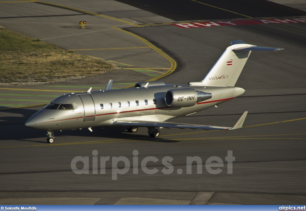 OE-INH, Bombardier Challenger 600-CL-605, Vista Jet