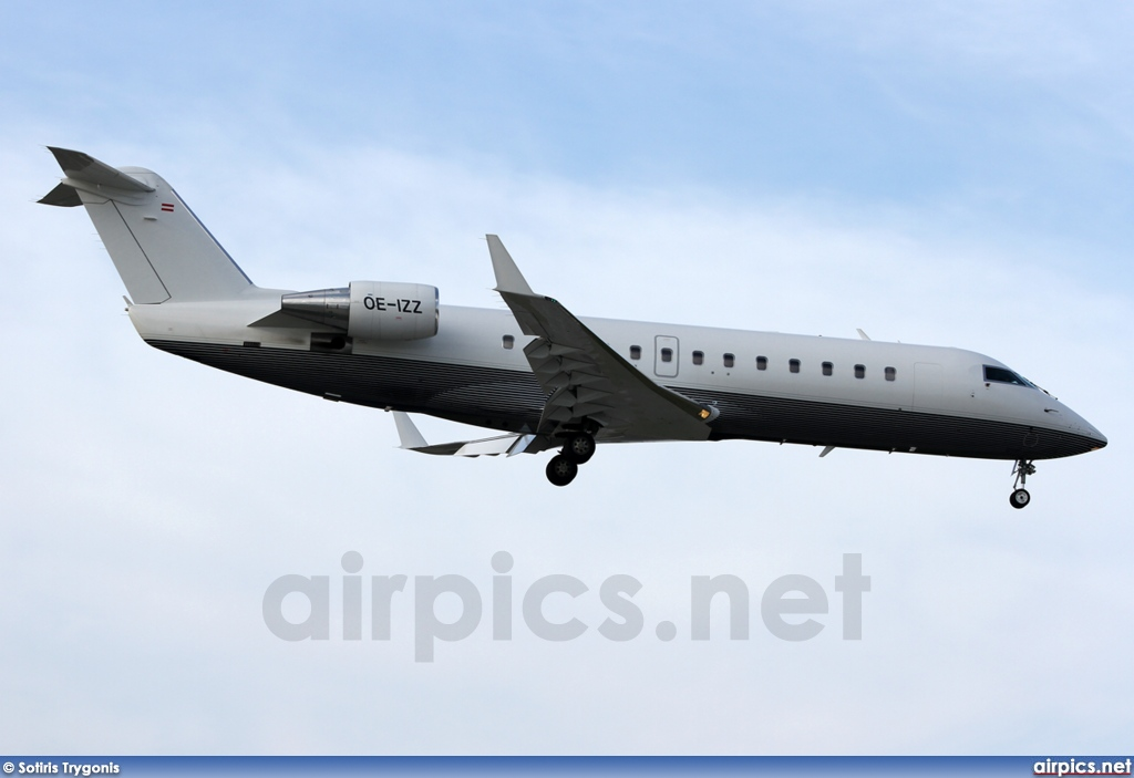 OE-IZZ, Bombardier Challenger 850, Private
