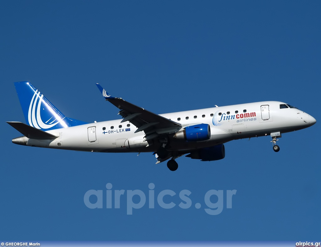 OH-LEK, Embraer ERJ 170-100STD, Finncomm Airlines