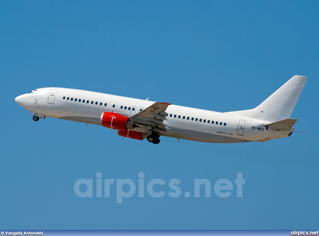 OK-WGX, Boeing 737-400, Untitled