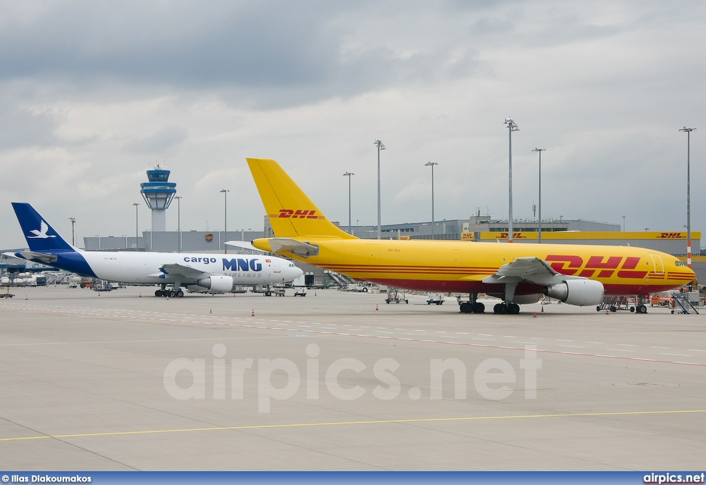 OO-DIJ, Airbus A300B4-100F, DHL Airways