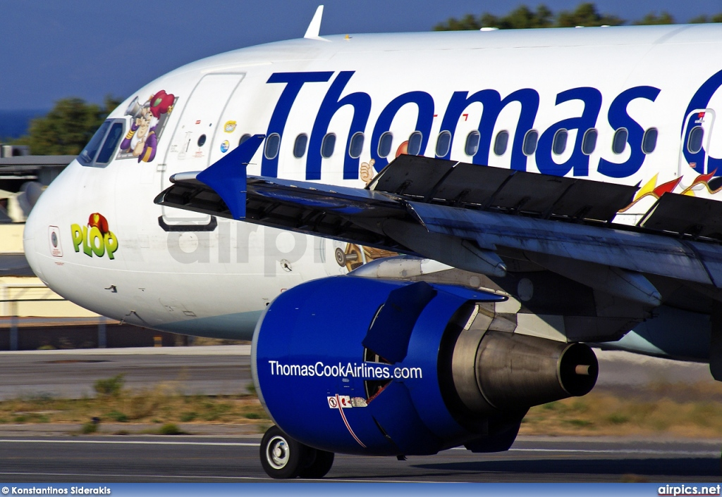OO-TCP, Airbus A320-200, Thomas Cook Airlines (Belgium)