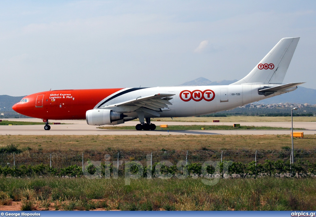 OO-TZD, Airbus A300B4-200F, TNT Airways