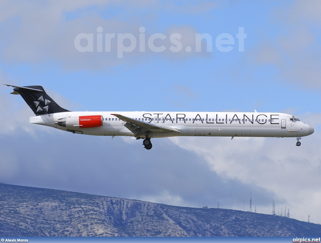 OY-KHP, McDonnell Douglas MD-81, Scandinavian Airlines System (SAS)