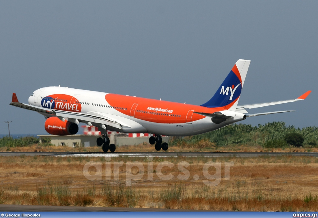 OY-VKG, Airbus A330-300, MyTravel Airways