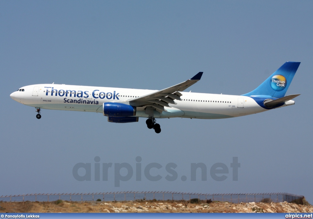 OY-VKG, Airbus A330-300, Thomas Cook Airlines Scandinavia