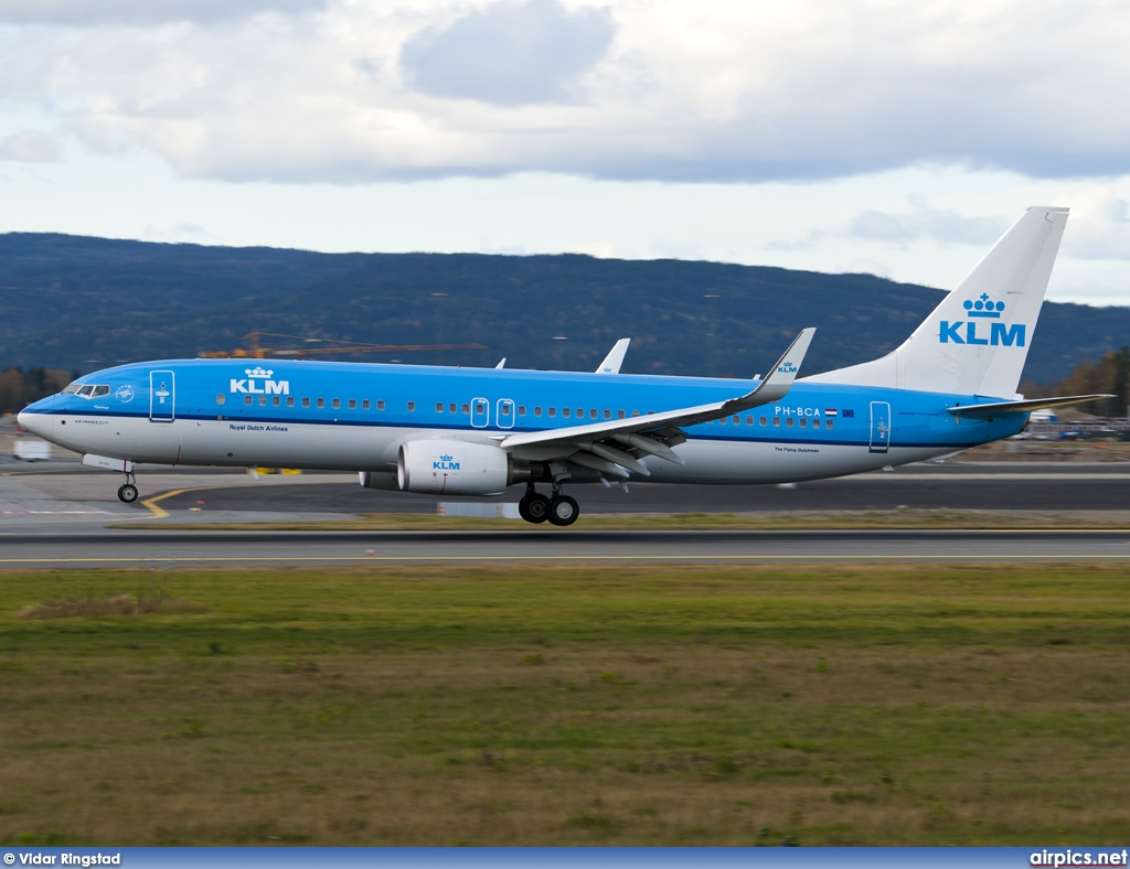 PH-BCA, Boeing 737-800, KLM Royal Dutch Airlines