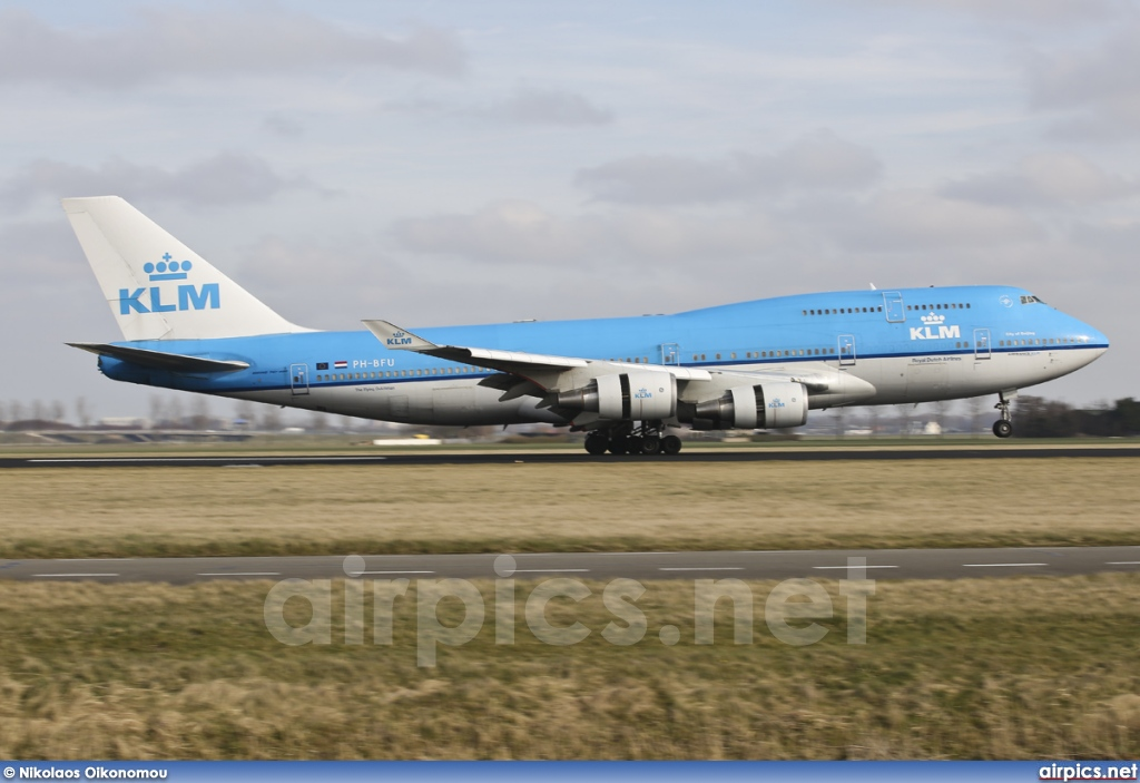PH-BFU, Boeing 747-400M, KLM Royal Dutch Airlines