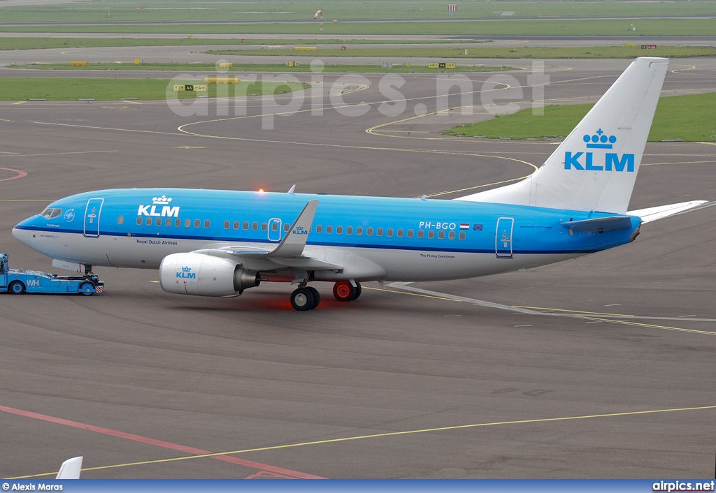PH-BGO, Boeing 737-700, KLM Royal Dutch Airlines
