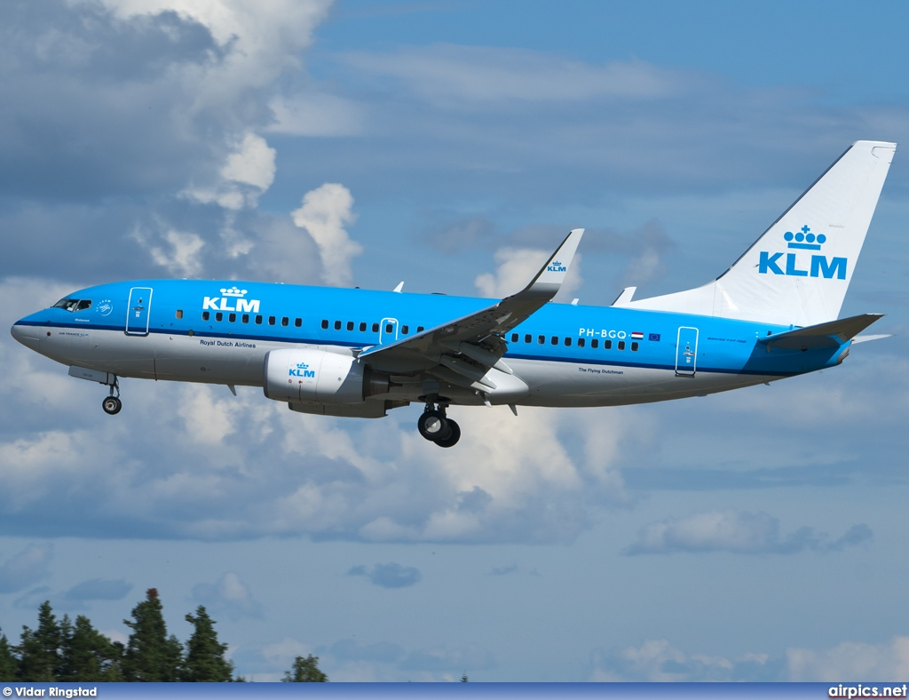 PH-BGQ, Boeing 737-700, KLM Royal Dutch Airlines