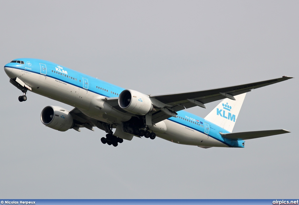PH-BQB, Boeing 777-200ER, KLM Royal Dutch Airlines