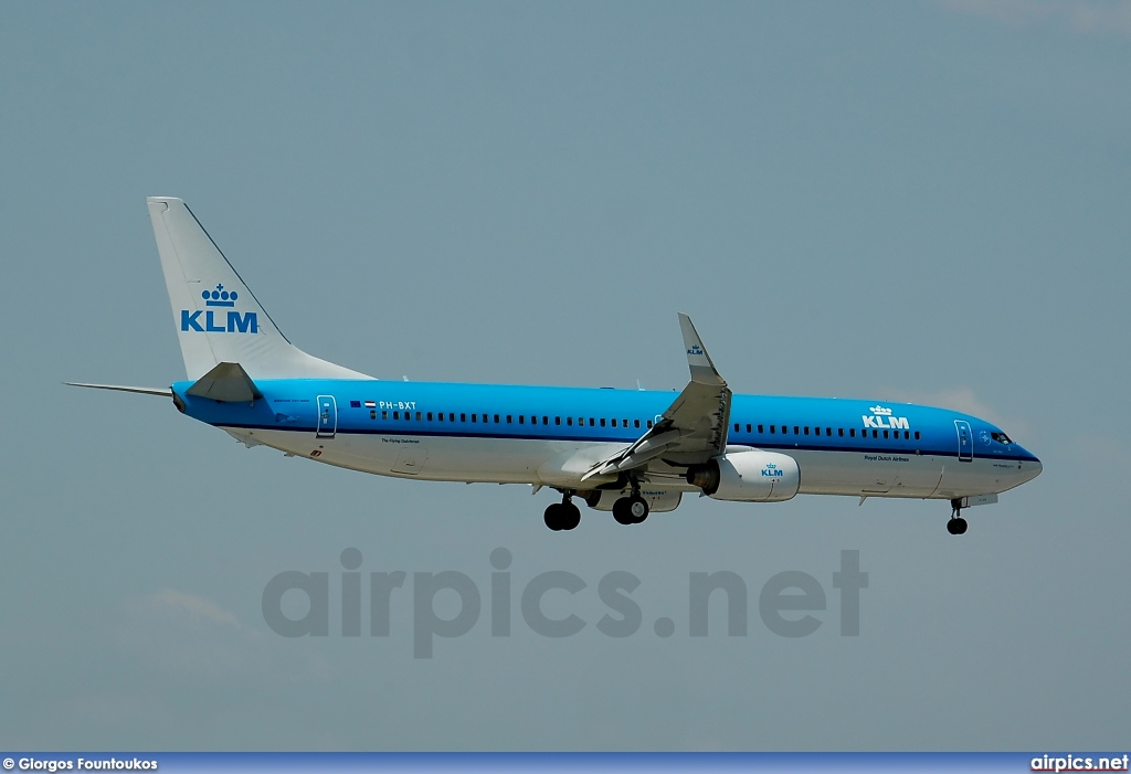 PH-BXT, Boeing 737-900, KLM Royal Dutch Airlines